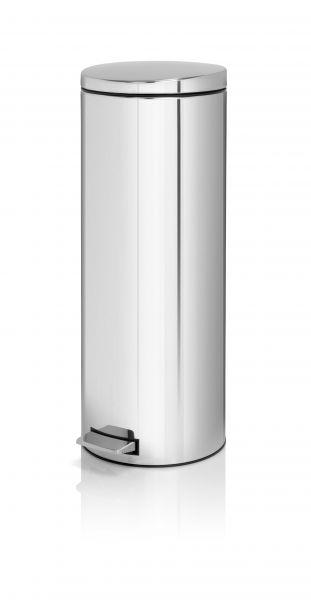 Brabantia 20 Liter Pedaalemmer.Pedaalemmer Silent 20 Liter Brabantia Rvs