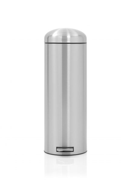 Brabantia 20 Liter Pedaalemmer.Pedaalemmer Retro 20 Liter Brabantia Mat Rvs Fpp