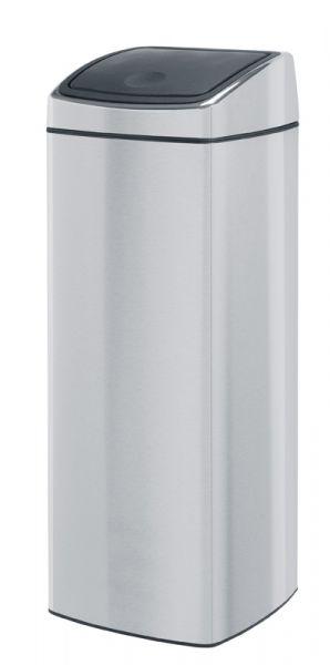 Brabantia Touch Bin Mat Rvs.Brabantia Touch Bin Vierkante Afvalbak Met Touchdeksel 25 Liter Mat Rvs Fpp